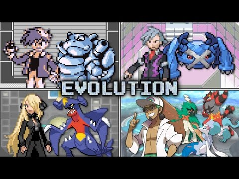 Evolution of Pokémon Champion Battles (1996 - 2016)