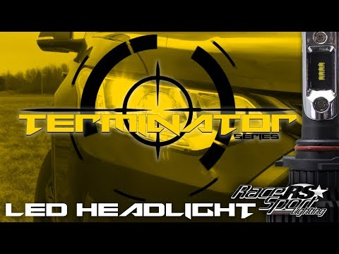 Race Sport Lighting Terminator LED Headlight Kit