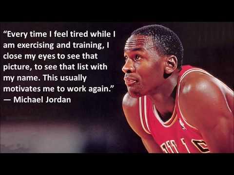 Michael Jordan - Best quotes and Best dunks