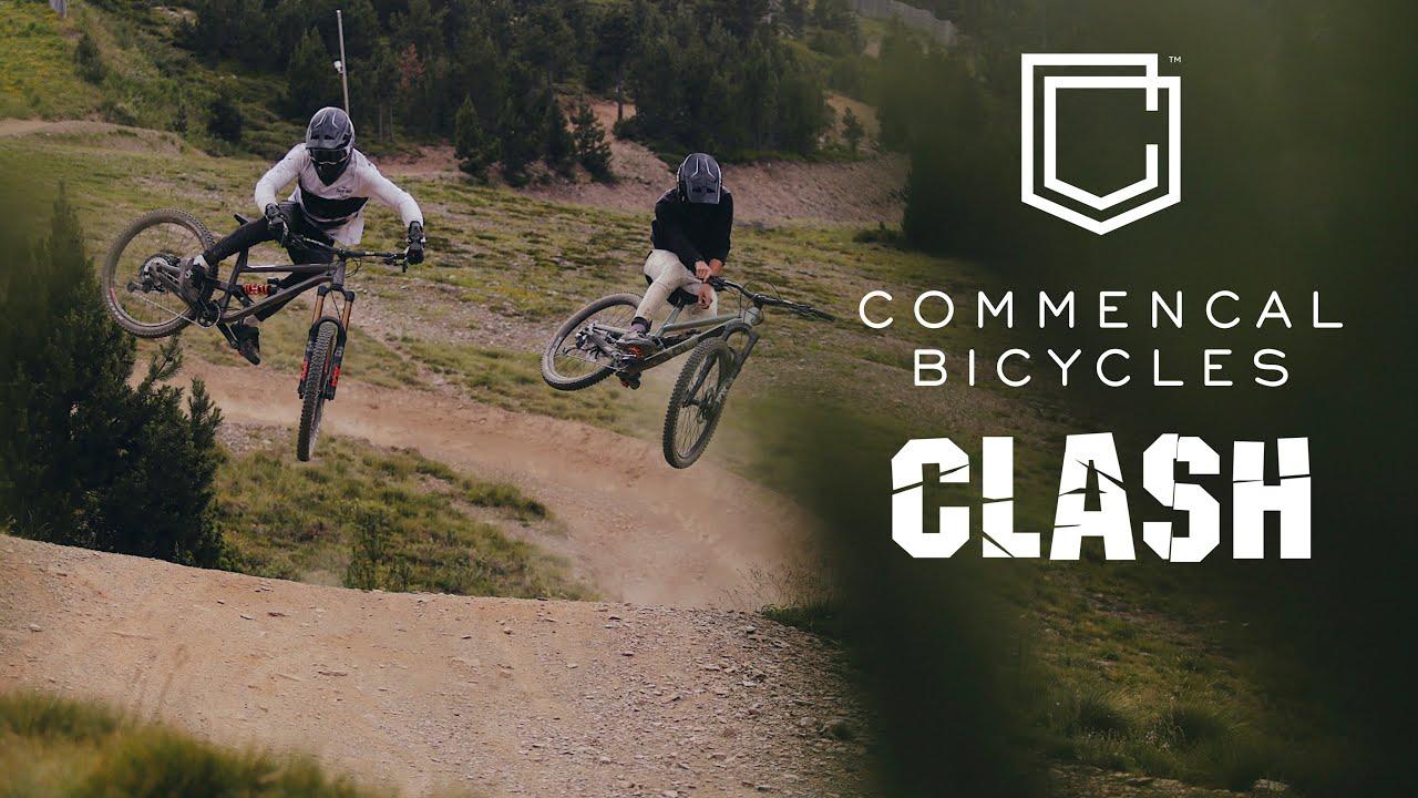 Antoine Pierron & Matteo Iniguez Ride Vallnord Bike Park - New CLASH