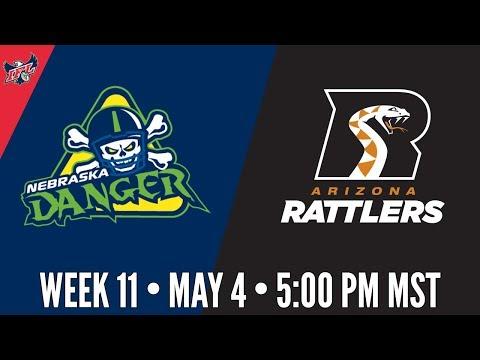 IFL Week 11 | Nebraska Danger at Arizona Rattlers