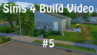 Sims 4 Build Video #5 - The Retreat