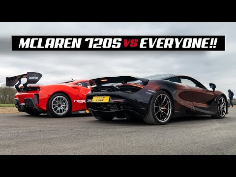 DRAG RACING MY MCLAREN 720S Vs 10 TUNER CARS!!