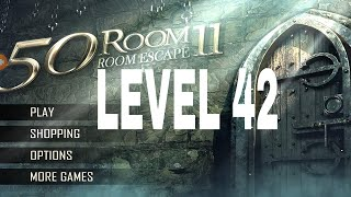 Can You Escape The 100 room 11 level 42 Walkthrough