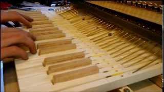 DIY keyboard glockenspiel test 2