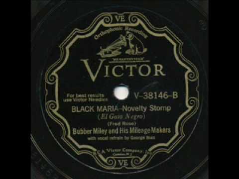 Bubber Miley. Black Maria. New York 1930