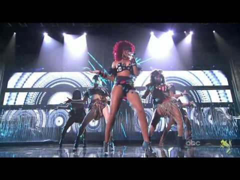 Rihanna American Music Awards 2010