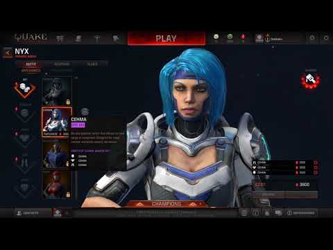 Quake Champions Early Access Character First Look