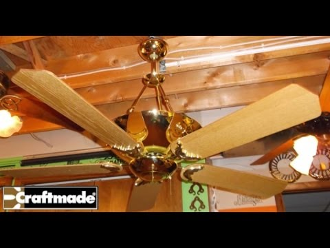 Craftmade crescent ceiling fan youtube craftmade crescent ceiling fan mozeypictures Images