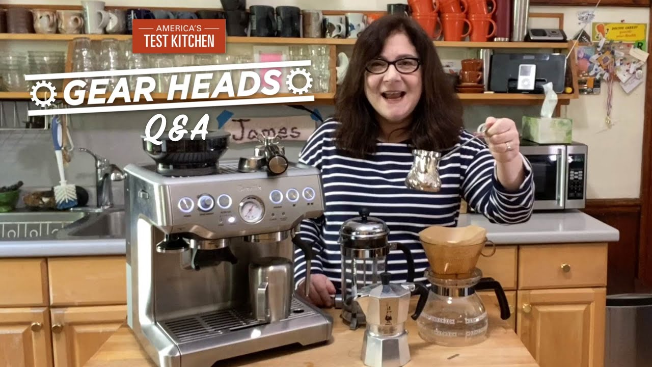 Gear Heads | Lisa Answers Your Questions About Coffee Equipment