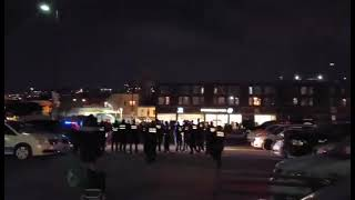 Curfew in Montreal