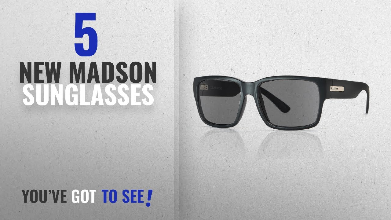23f4ad4b421 Top 10 Madson Sunglasses   Winter 2018    MADSON Classic Unisex 15 ...