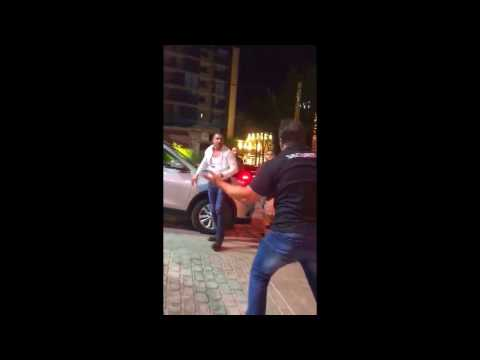 Bloody FIGHT outside Beirut Nightclub