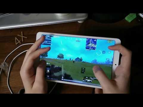 PUBG Mobile / 5 Fingers / Handcam / Mi Pad 4