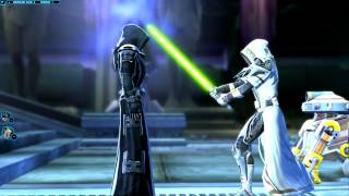 SWTOR - Jedi Knight - Act 3 - Killing the Emperor(Dark Side)