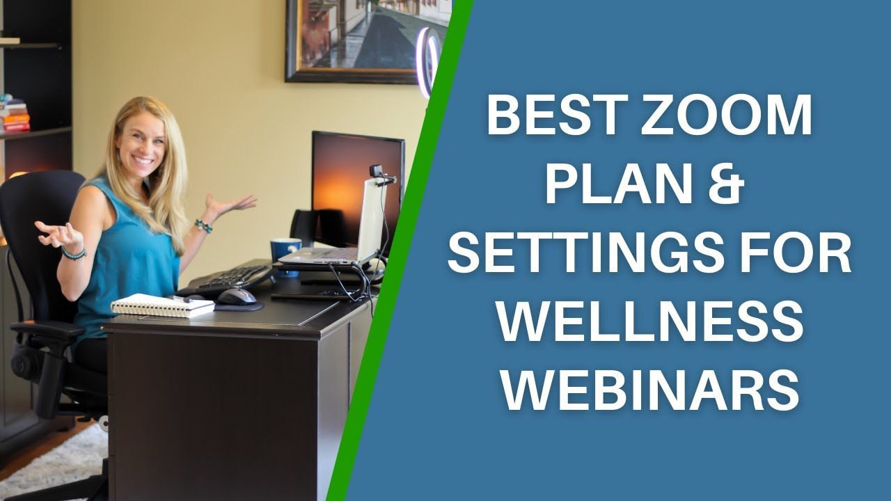 What Plan and What Settings Are Best For Your Next Webinar
