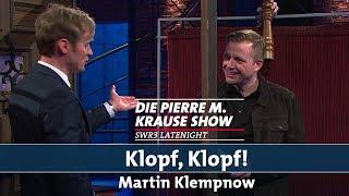 """""""Klopf, Klopf!"""" mit Martin Klempnow"""