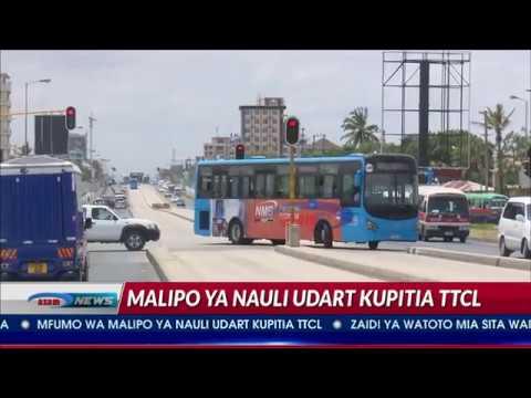 Mfumo Wa TTCL Kutumika Kukata Tiketi Mwendokasi