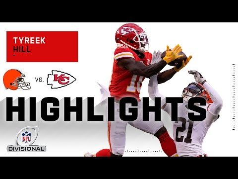 Tyreek Hill Dominated the Cleveland Secondary w/ 110 Yds | NFL 2020 Highlights