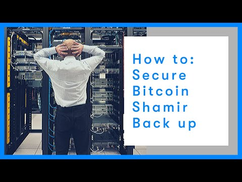 How To: secure your bitcoin with Trezor's Shamir Back Up   Tutorial   BTC Direct thumbnail