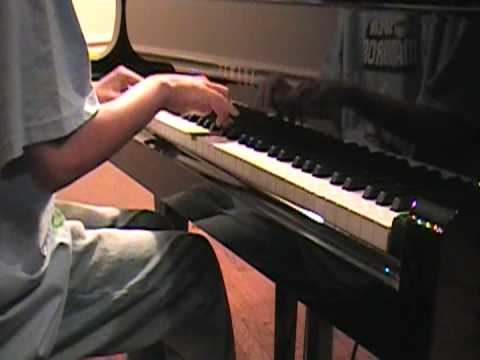 Naruto Shippuden Ending- Nagareboshi (Shooting star) on piano