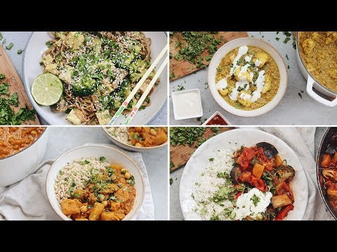 HOW TO MAKE VEGAN CURRY | 4 Simple Recipes