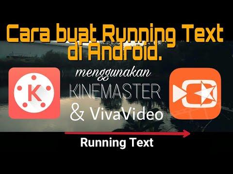 Cara membuat running text di android
