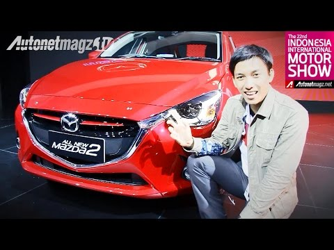First impression review Mazda 2 SkyActiv 2015 dari Indonesia Motor Show