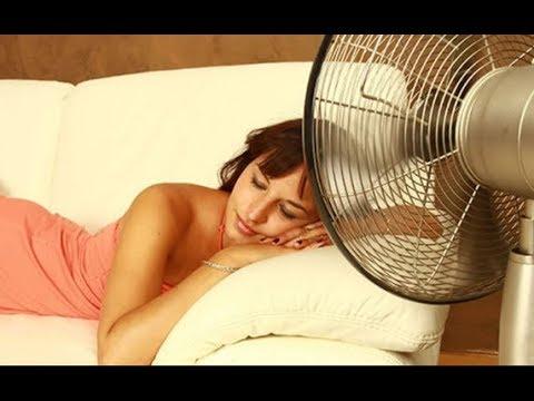 Вот почему спать под вентилятором – абсолютно вредная привычка!