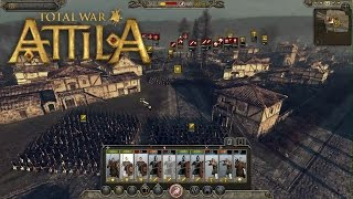 Total War: Attila Gameplay With Developer Commentary