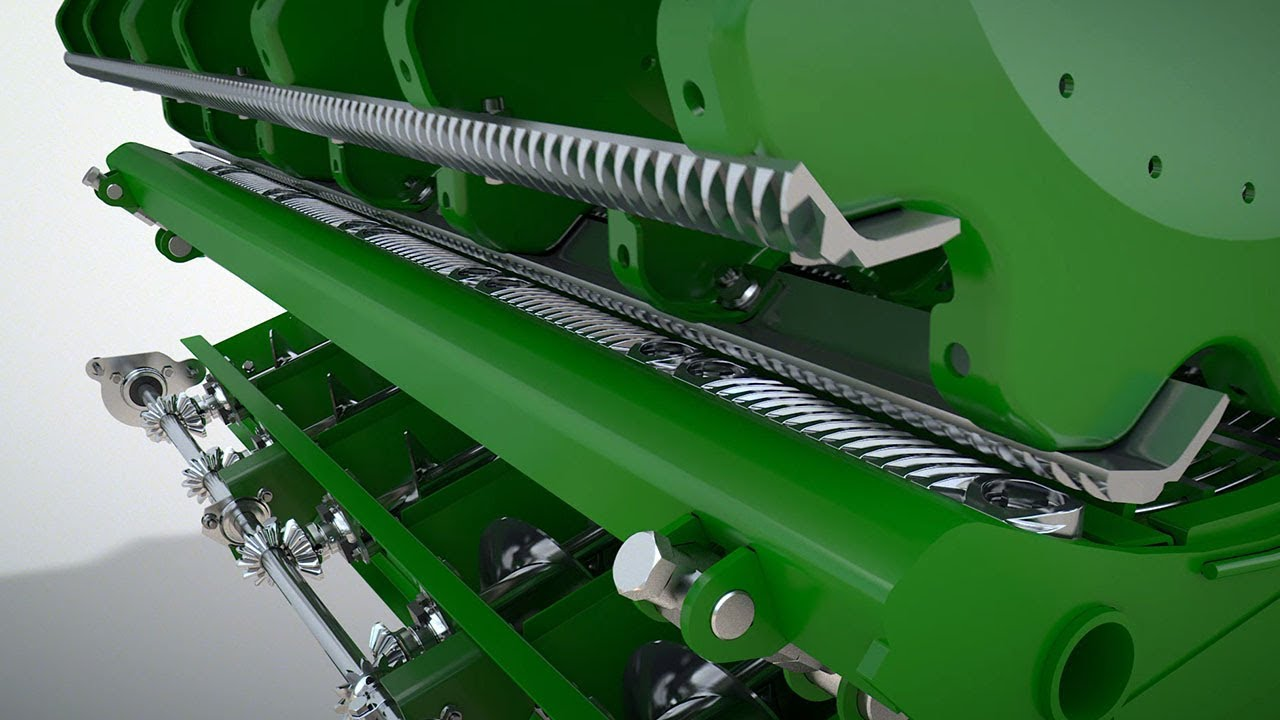 John Deere Up to 10% more performance in barley with the BoosterBar