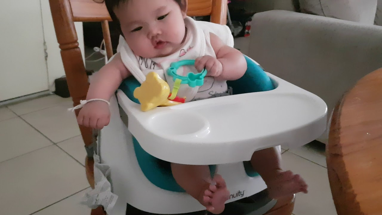 Ingenuity Baby Base 2 In 1 Booster Seat 3 Month Old