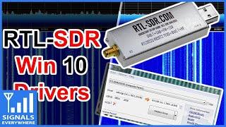 RTL SDR Drivers On Windows 10 2019
