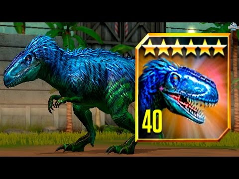 FEEDING YUTYRANNUS TO MAX LVL 40! - Jurassic World The Game - *TOURNAMENT DINO* HD