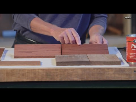 Choosing the Perfect Stain Color | Minwax Wood Finish Stains | Just Ask Bruce