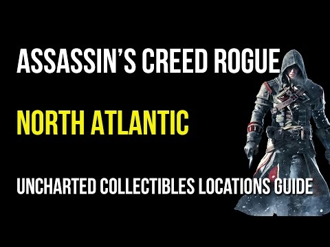 Assassin's Creed Rogue North Atlantic Uncharted Collectibles Locations (Animus Fragments/Chests)