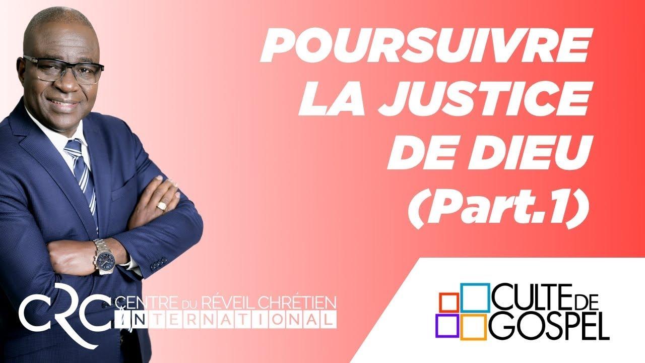 """""""Poursuivre la Justice de Dieu"""" (part.1) - Pst David Goma"""
