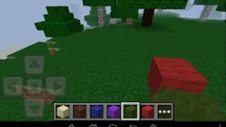 Minecraft Pe 0.2.1 Demo Como um Portal da Casa do Bob Esponja