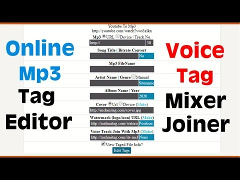 online-mp3-tag-editor,-voice-tag-mixer-joiner,-watermark-to-cover,-bitrate-converter