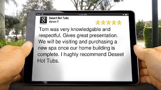 Desert Hot Tubs Review Montana Apartments, AZ 85042 (623) 266-6066