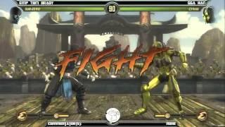 MK9 casuals, EMP Tom Brady (Sub-Zero) vs GGA HAN (Cyrax)