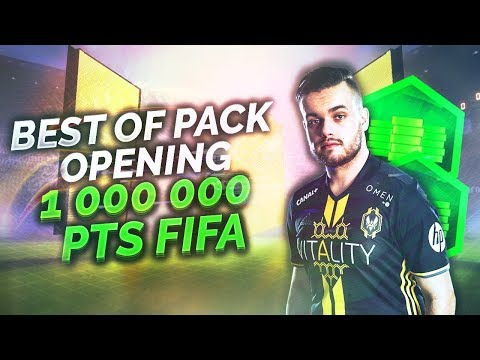 FIFA 18 : Best of Pack Opening 1 000 000 de Points FIFA !