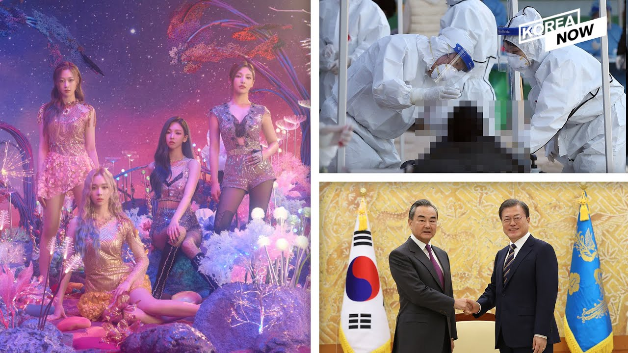 NSC reviews COVID-19 situation / Moon meets top Chinese diplomat / aespa enters Billboard charts