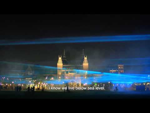 WATERLICHT by Daan Roosegaarde in Museumplein Amsterdam [OFFICIAL MOVIE]