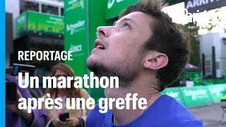Greffé des poumons, Alexandre a couru le marathon de Paris