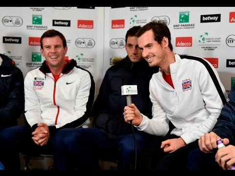 Team GB Takes The Davis Cup Quiz