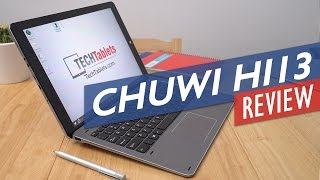 Chuwi Hi13 Review - Windows 10 Tablet With Surface Book Screen