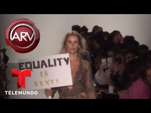 Dayanara Torres deslumbró en desfile de Stella Nolasco | Al Rojo Vivo | Telemundo