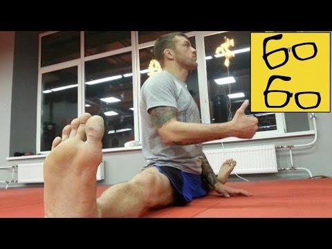 Урок растяжки для бойца — зачем шпагат для ударов ногами? Андрей Басынин о растяжке в единоборствах