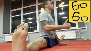 Урок растяжки для бойца — зачем шпагат для ударов ногами? Андрей Басынин о растяжке в единоборствах(Получите бесплатную поездку на такси Uber: http://ubr.to/1TN2src Подписка на канал